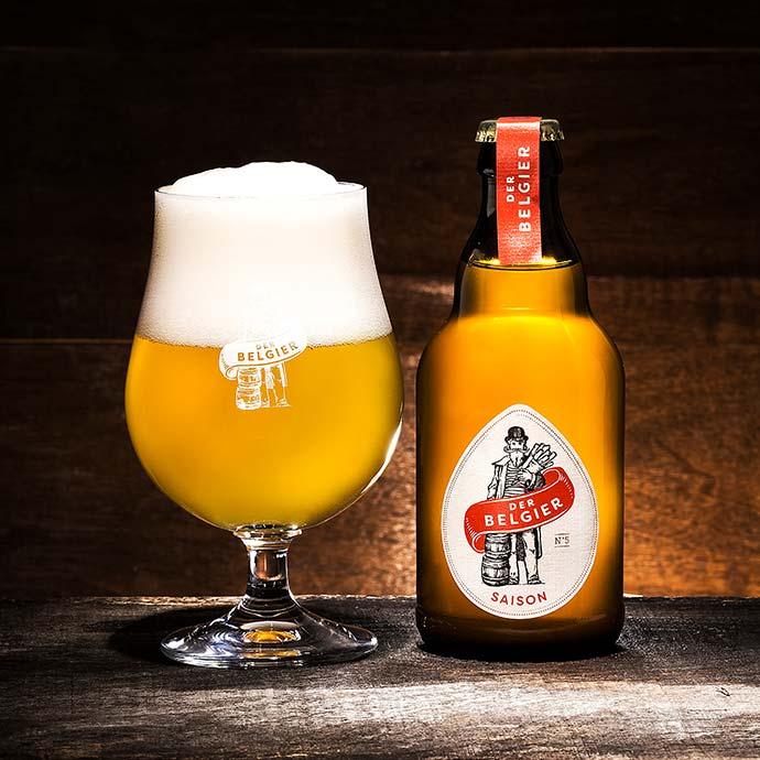 Biere nach belgischer Tradition